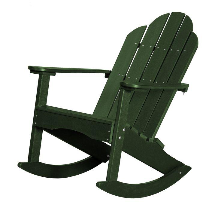 Classic Adirondack Rocker Chair