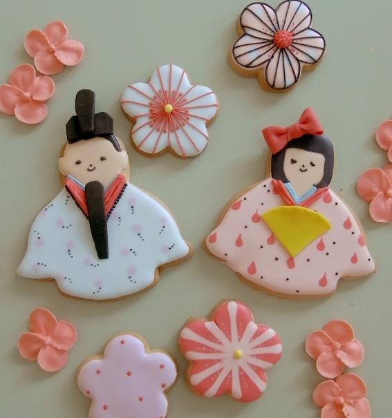 Hinamatsuri Japanese Festival cookies♡