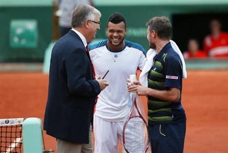 Wawrinka Tsonga in 5th set will finish tomorrow: Finish Tomorrow, Open 2012, French Open, 5Th Sets, Stan Wawrinka, Wawrinka Tsonga
