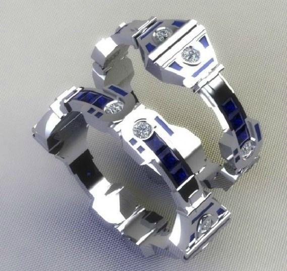 17 Best ideas about Nerd Wedding Rings on Pinterest Geek wedding