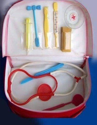 Retro játék orvosi táska