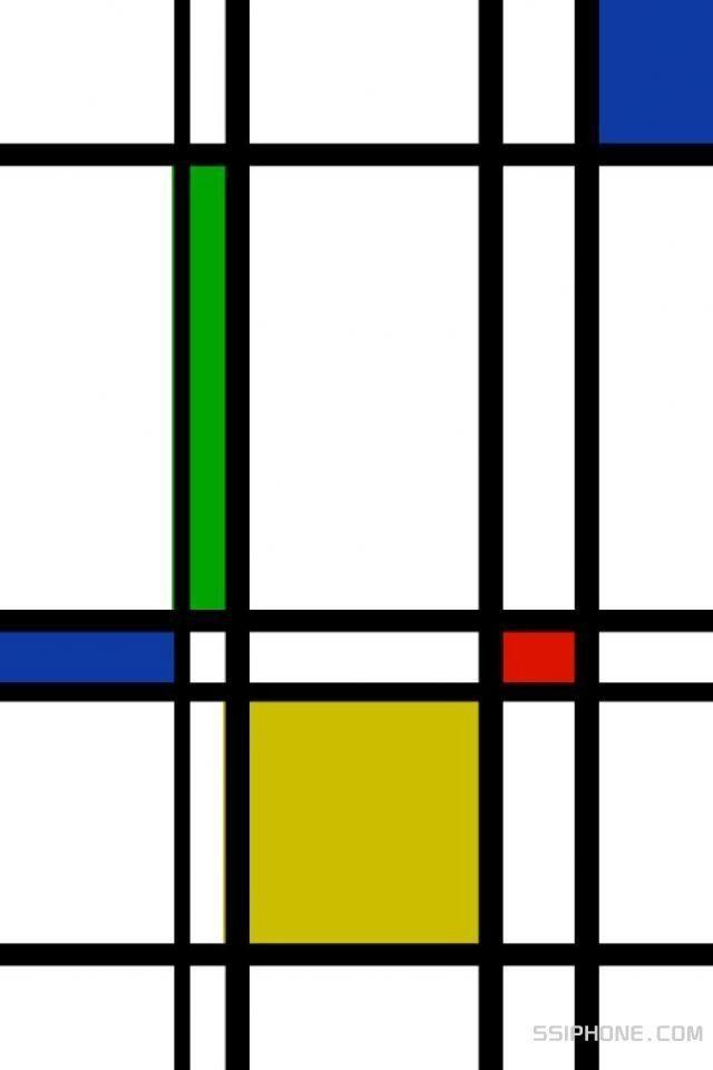 Backdrop Inspo: Mondrian