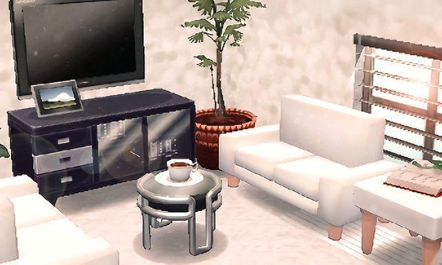 beautiful modern acnl room moderne
