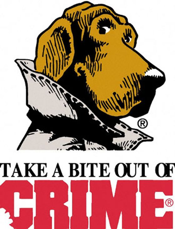 Take A Bite Out Of Crime Dog