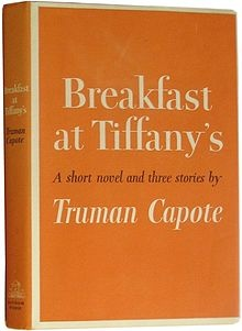 Breakfast at Tiffany's by Truman Capote- just finished this book- absolutely fabulous writer
