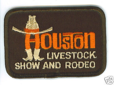 Old School Houston Livestock Show Amp Rodeo Patch Molinas