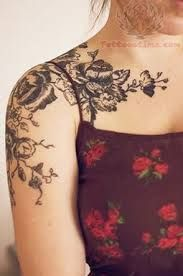 shoulder tattoos female - Google Search