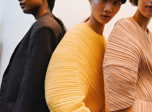 Save the Date for Our Issey Miyake Trunk Show on September 23rd! 12 Mine Brook Rd, Bernardsville, NJ 07924 (908) 766-4700 An Issey Miyake stylist will be on site to help you select and style an artful piece to liven your fall wardrobe! (Photo by Jil Sander).