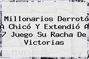 http://tecnoautos.com/wp-content/uploads/imagenes/tendencias/thumbs/millonarios-derroto-a-chico-y-extendio-a-7-juego-su-racha-de-victorias.jpg Millonarios. Millonarios derrotó a Chicó y extendió a 7 juego su racha de victorias, Enlaces, Imágenes, Videos y Tweets - http://tecnoautos.com/actualidad/millonarios-millonarios-derroto-a-chico-y-extendio-a-7-juego-su-racha-de-victorias/