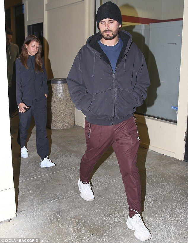 Enjoying dinner: On Friday, Scott Disick, 34, and Sofia Richie, 19, were seen leaving Shibuya sushi restaurant in Calabasas