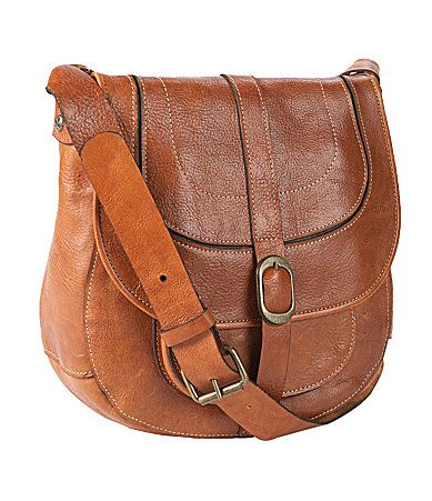 Patricia Nash Leather Barcelona Saddle Bag #Dillards