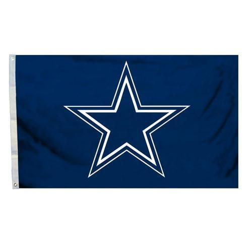 Dallas Cowboys House Flag 3×5