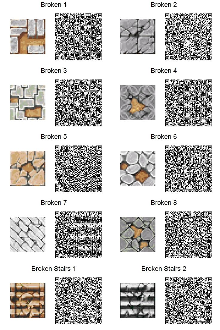 Broken animal crossing paths ac qr paths pinterest for Floor qr codes new leaf