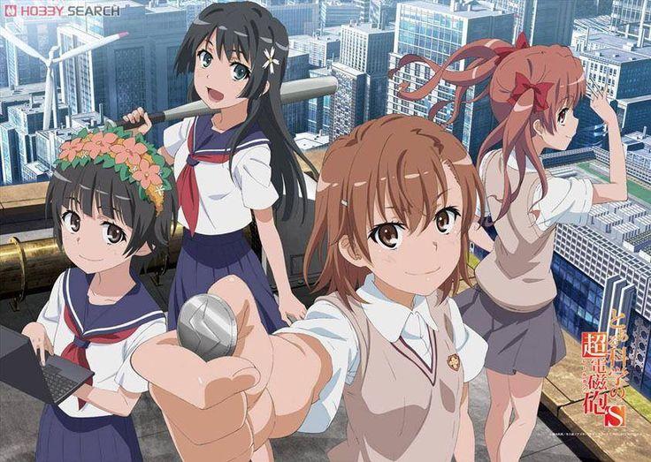 A Certain Scientific Railgun S Fabric poster, Anime artwork