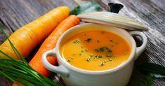 Recette de Soupe anti-graisse de carottes à l'aneth. Facile et rapide à réaliser, goûteuse et diététique. Ingrédients, préparation et recettes associées.