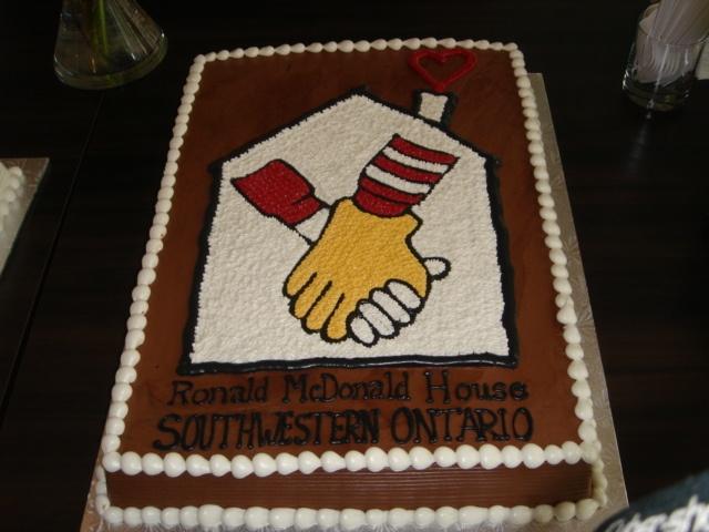 More Ideas. Cake For A Good Cause. :) #RMHC #ronaldmcdonald #ronald