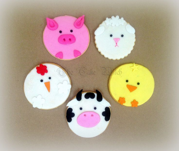 Farm Animals Biscuits /Cookies