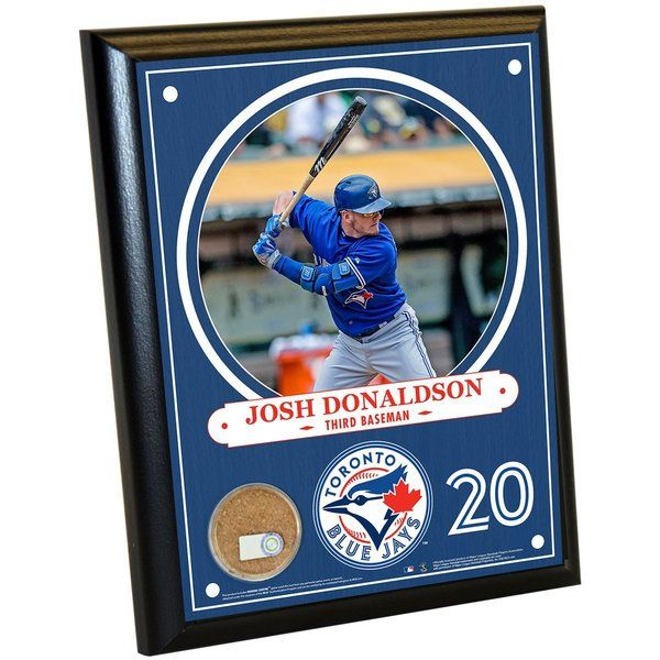 Josh Donaldson Wall Plaque (with Game Used Dirt)