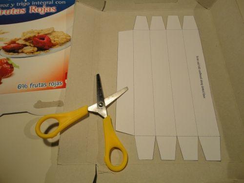 Resultado de imagen de cajas carton tubo triangular