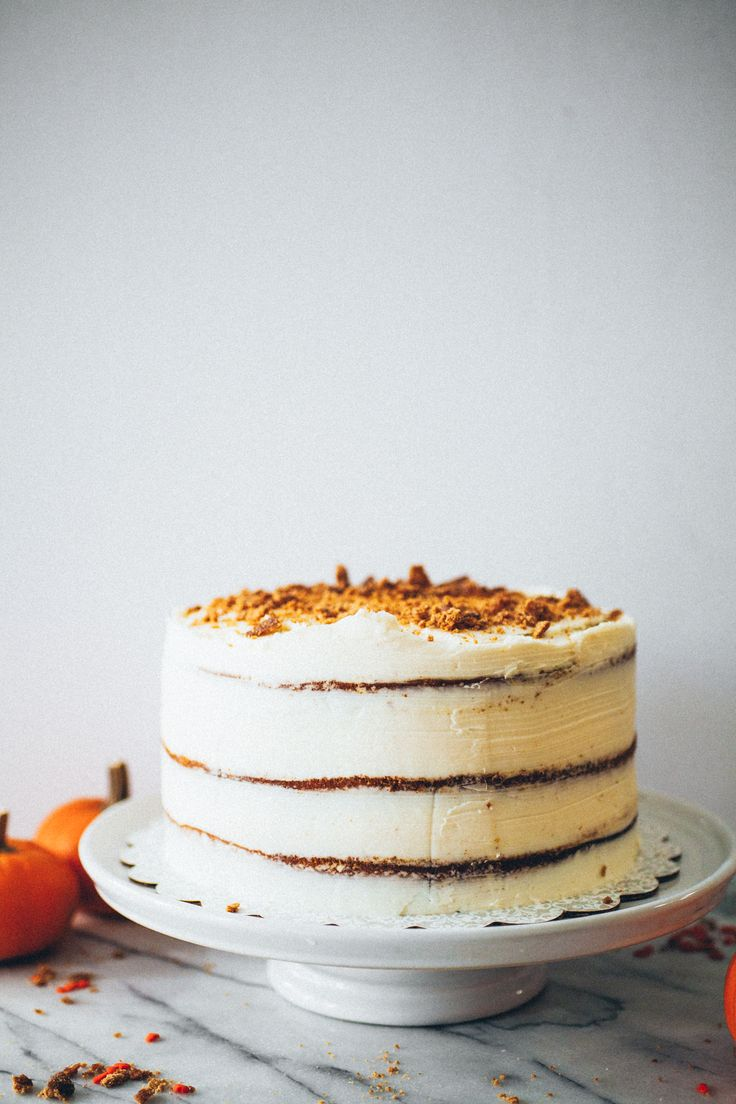 Pumpkin Pie Layer Cake - The Crepes of Wrath
