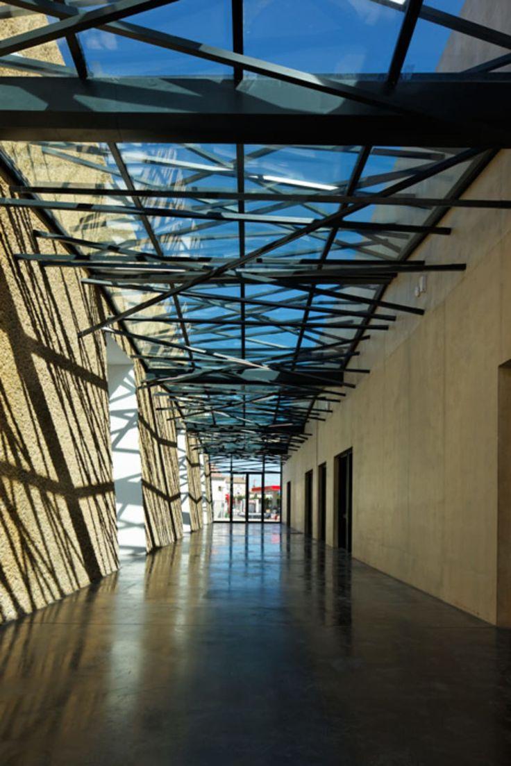 Lycée Alphonse Daudet, in Tarascon, France, by Christophe Gulizzi Architecte