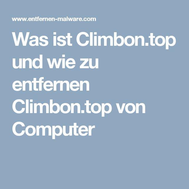 Was ist Climbon.top und wie zu entfernen Climbon.top von Computer