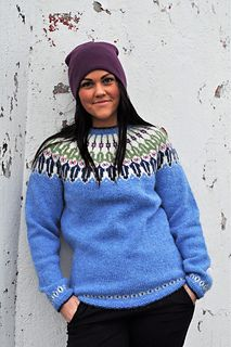 Bluebell pattern by Hilde Morseth