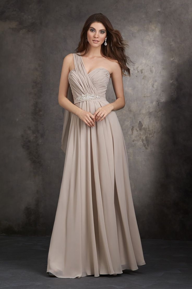 97 best allure bridesmaid dresses free shipping images on allure bridesmaids 1407 this full length gown accents gracefully draped chiffon with a crystal beaded design ombrellifo Image collections