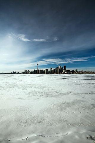 Lake Ontario Frozen