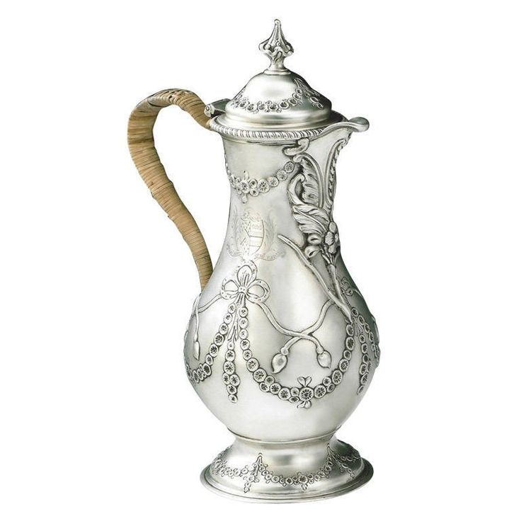 1773 George III Coffee or Water Jug by Charles Wright