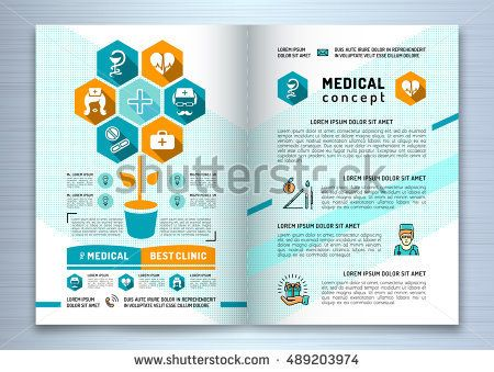 25+ spraakmakende ideeën over Medical brochure op Pinterest - medical brochure template