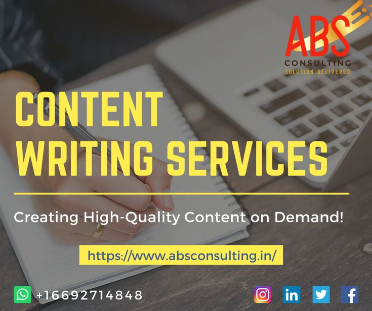 Content Writing Services in USA | Content Writing Company
