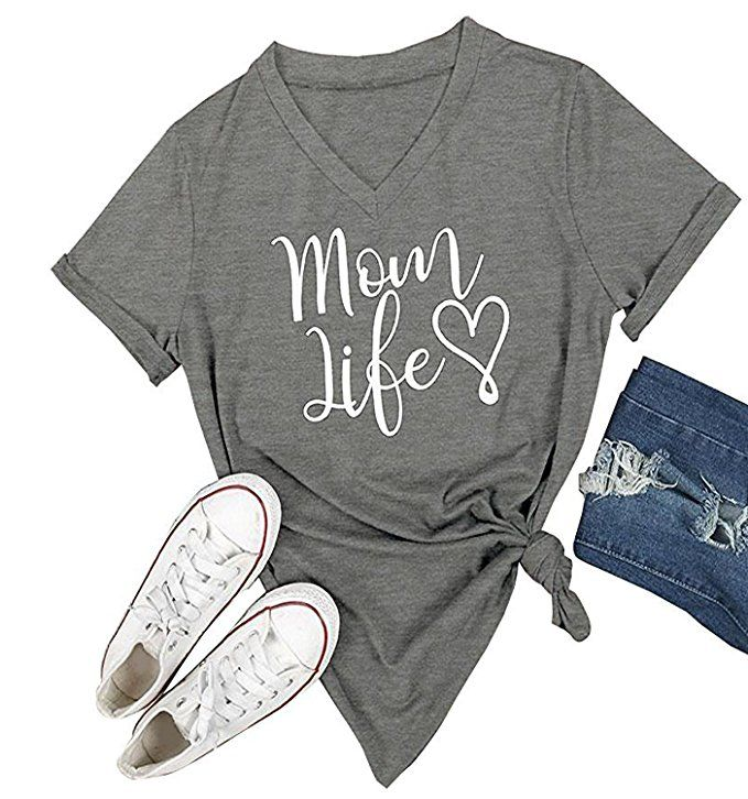 This awesome mom life shirt can be found at Amazon. New mom gift right here! All moms would love this. This is a perfect mom birthday gift,  Christmas gift for mom, Mother's Day gift or valentines gift for mom! Use this affiliate link : http://amzn.to/2xH7cKP
