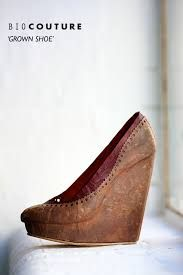 the shoe was grown from bacteria cellulose