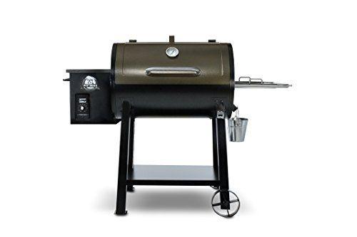 Best Pellet Smoker 2017: Pit Boss Grills 440 Deluxe Wood Pellet Grill