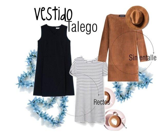 """Vestido talego"" by stylemezu on Polyvore featuring Martha Stewart, Jil Sander, MANGO and Vanessa Seward"