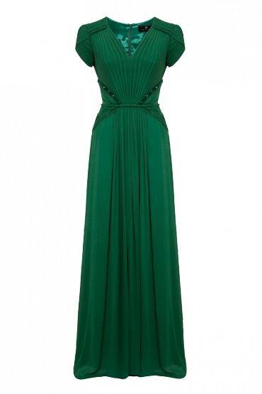 emerald green dress I envy