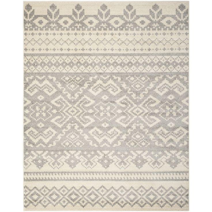 Safavieh Adirondack Ivory/ Silver Rug (11' x 15') | Overstock™ Shopping - Top Rated Safavieh Oversized Rugs