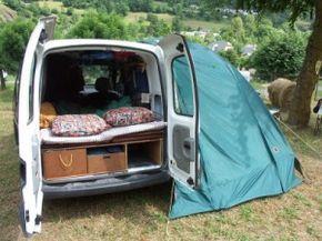 Kangoo: Een alternatieve vakantie auto... - camperleven.nl - 15/0