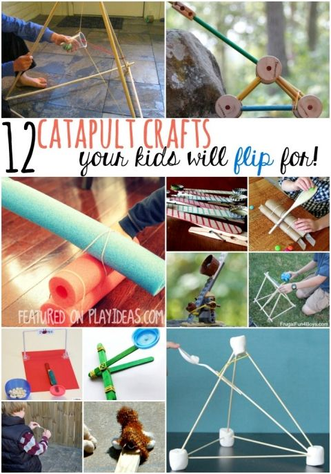 CATAPULT CRAFTS your kids will flip for