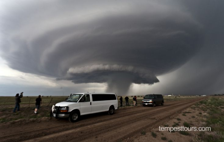 """""""Mothership Cloud"""" Supercell Tornado In Texas"""
