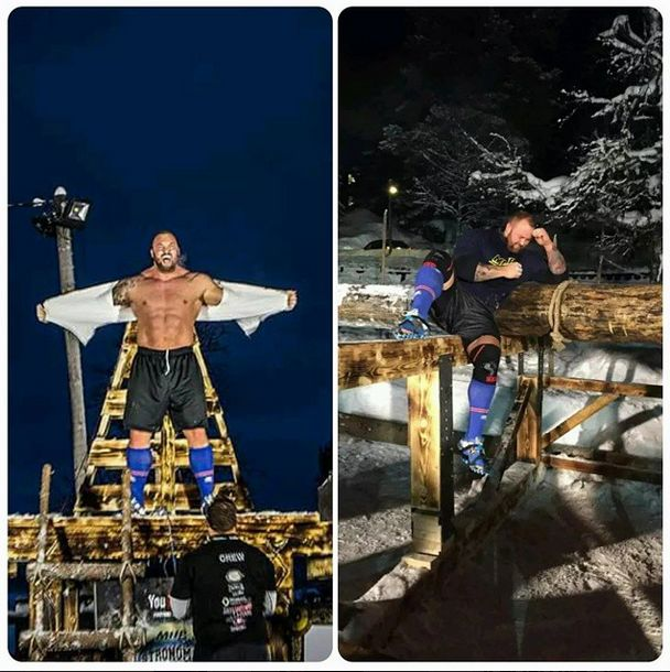 Hafþór Júlíus Björnsson made history by breaking a 1000 year old weightlifting record and bagged the title of World's Strongest Viking this weekend