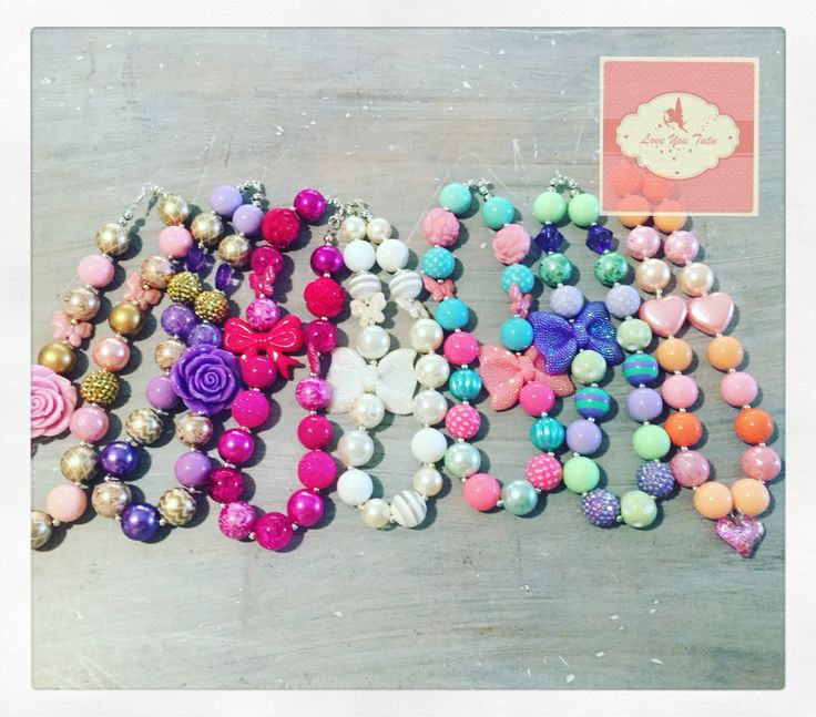Bubblegum beads made to order