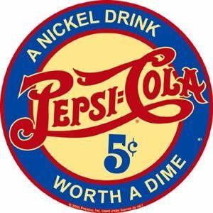 Detalle de la imagen de -Poster Metalico Lamina Anuncio Antiguo Pepsi Nickel Drink R - $ 160.00 ...