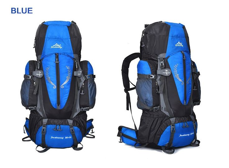 large capacity 85l hiking backpack