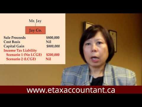 Corporate income tax tip Canada - If you are a Canadian business owner, you may not have to pay income taxes on the first $800,000 of gains from the sale of your business, provided proper tax planning is done prior to the sale.   Visit www.etaxaccountant.ca or call Claudia Ku today at 416-417-1215 to find out how Claudia can help you.