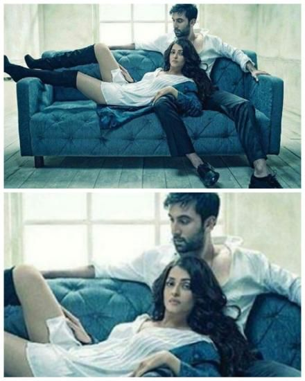 Ranbir and Aishwarya up the sex appeal in this scorching hot ADHM photoshoot