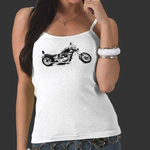 Custom Motorcycle Tank Top