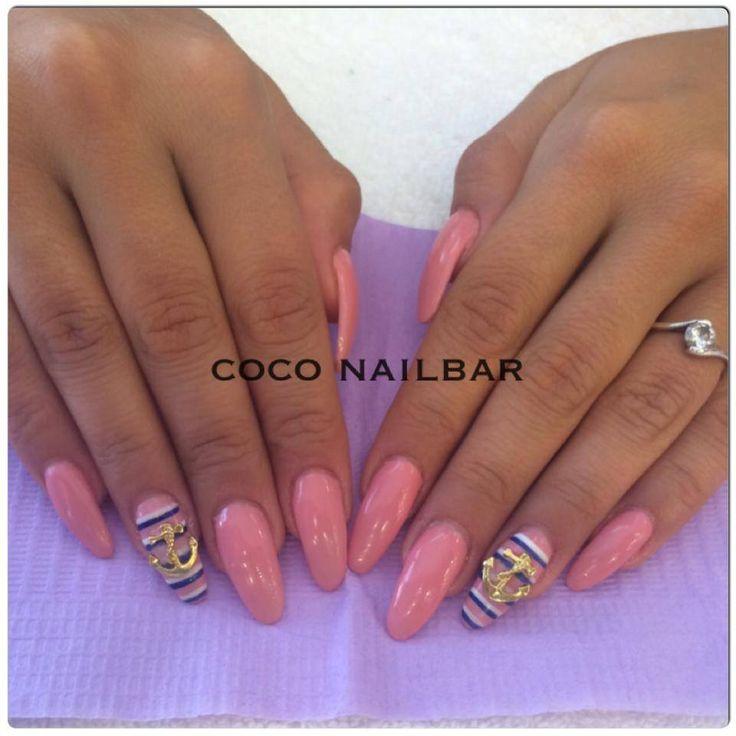 Nails by COCO Nailbar Athens, Greece with GEL.IT.UP UV LED Soak off Gel Polish