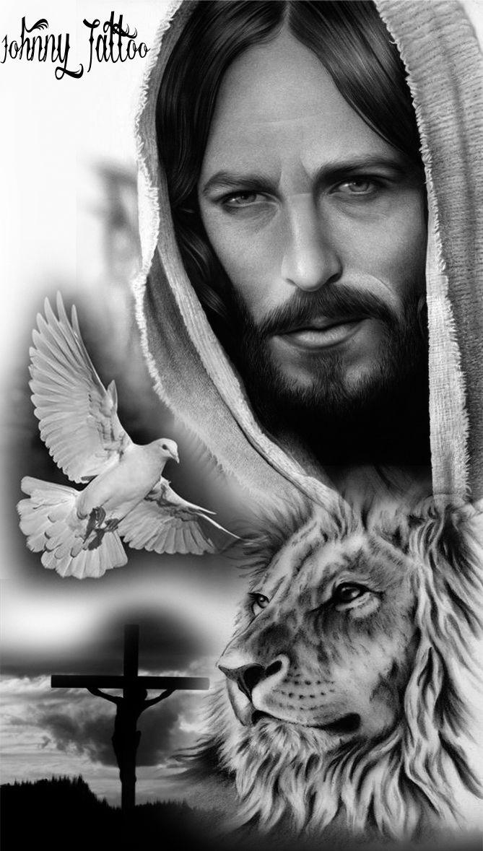 Jesus,lion ,Leão,Judá #maoritattoosdesigns